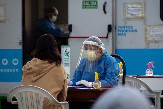 Coronavirus: continúa la curva de los 30 mil casos .