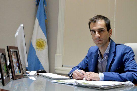 Pablo Petrecca, el intendente de Junín, donde la grieta está más viva que nunca. Desde la oposición le reclaman más diálogo y medidas contra el Covid-19.