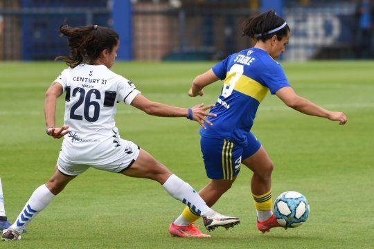 Gimnasia cayó con Boca en una nueva fecha del fútbol femenino de AFA.