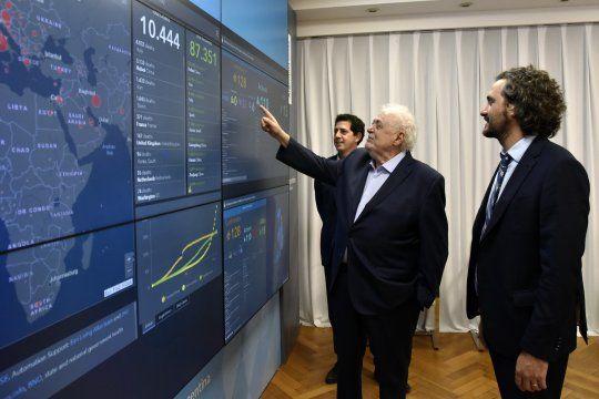 Santiago Cafiero y Ginés González García lanzan un programa para la salud