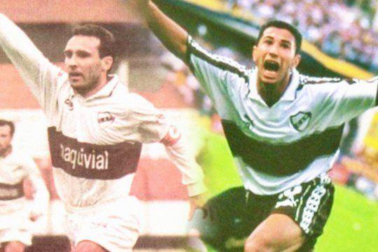 Marcelo Espina y Mauricio Hanuch, dos referentes de las últimas hazañas de Platense en primera