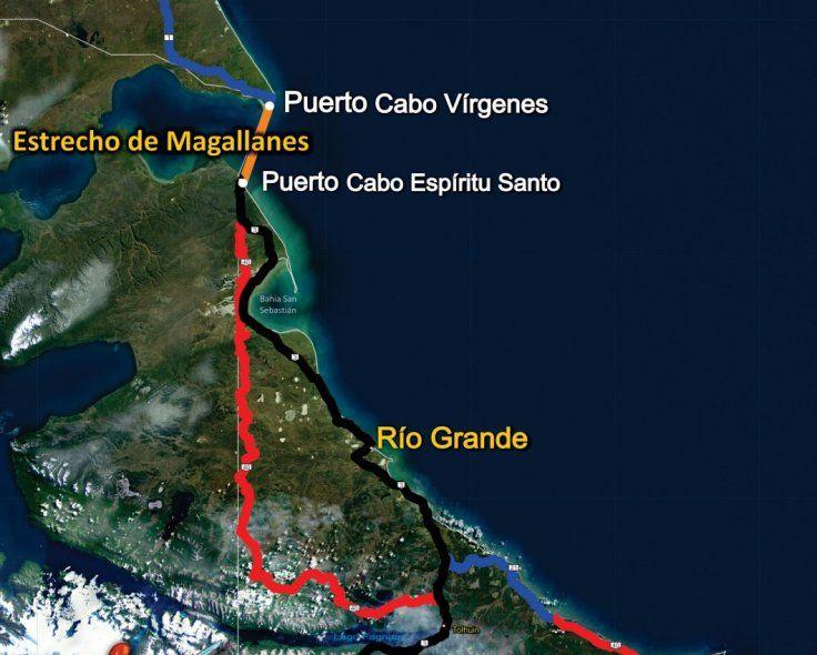El proyecto para ingresar a Tierra del Fuego sin pasar por Chile