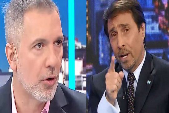 con acusaciones de abuso de por medio, duggan y feinmann se dijeron de todo en las redes