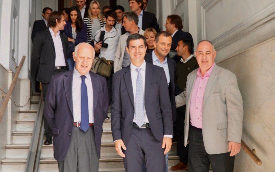 """""""Tucho"""" Fernández recibió a los candidatos de Consenso Federal"""