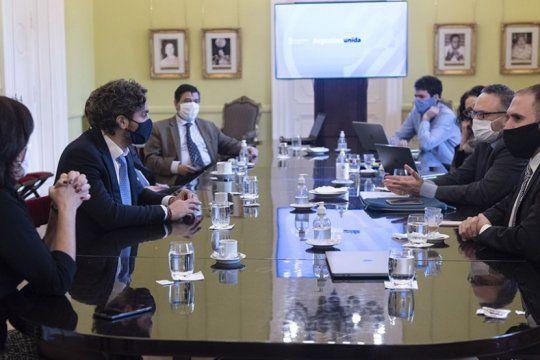 el gabinete economico se reune para avanzar con la reactivacion economica
