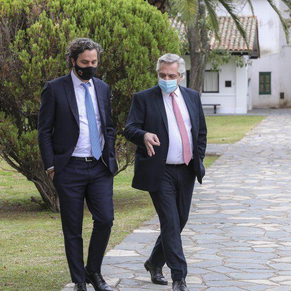 Cafiero destacó el discurso de Alberto Fernández