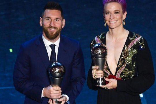 balon de oro 2019: lionel messi y megan rapinoe en la cima del futbol mundial