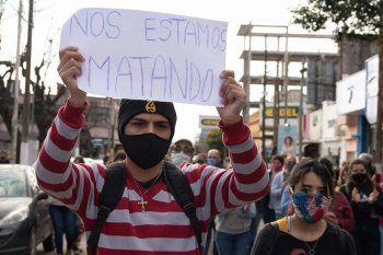 El reclamo de justicia fue en la plaza San Martín