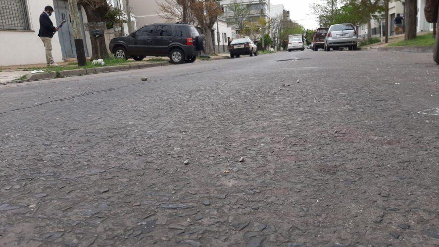 Los motochorros descargaron su furia en calle 30 entre 42 y 43