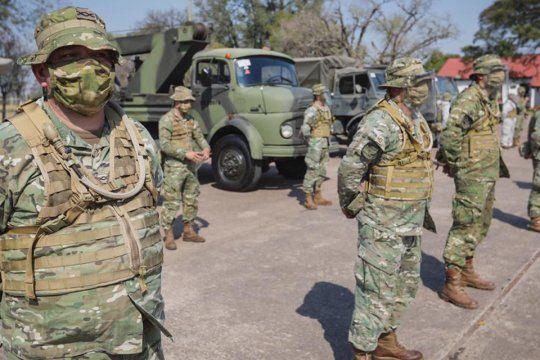Las Fuerzas Armadas y de Seguridad recibieron mejoras en sus salarios