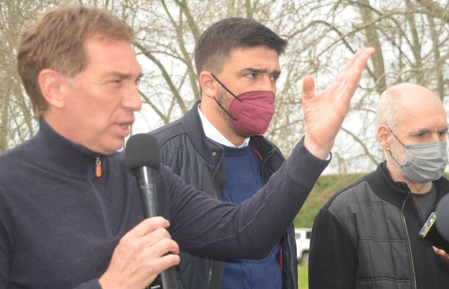 Diego Santilli habló previo al domingo y puso a la seguridad como eje de campaña