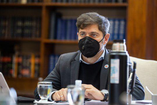 Axel Kicillof habló con intendentes sobre la segunda ola de coronavirus