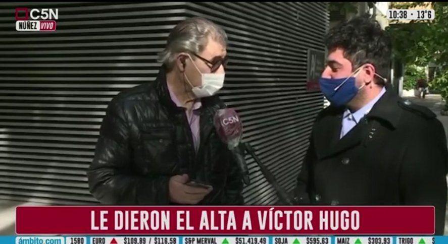 Víctor Hugo Morales fue tendencia al conocerse el alta médica tras sufrir duras afecciones por el coronavirus que lo dejaron internado casi 2 meses