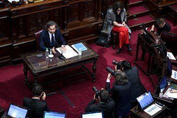 Santiago Cafiero defendió la gestión del Gobierno en el Senado