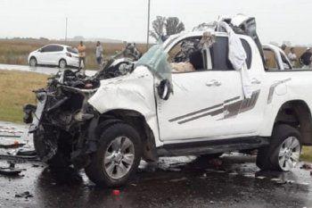 Ruta 7: trabajadores municipales murieron tras un accidente en San Andrés de Giles