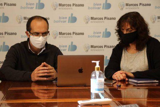 Cruce entre Galli y Pisano por una polémica medida de prevención