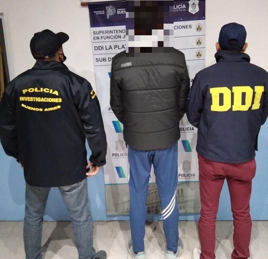 El hombre de 39 años fue detenido en Berisso tras una pesquisa de 5 meses