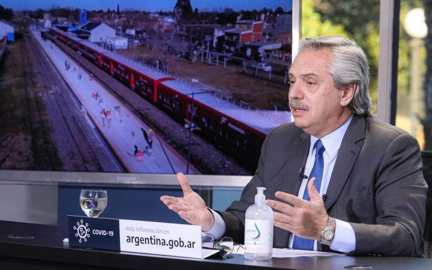 """Alberto Fernández: """"Hoy más que nunca el Estado necesita convertirse en el motor del desarrollo"""""""