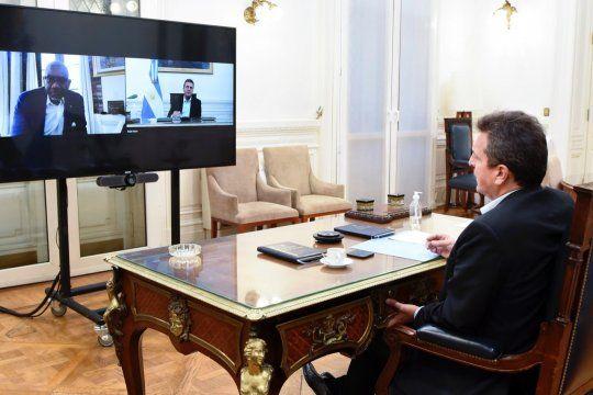 Massa, el impulsor de las relaciones bilaterales con Estados Unidos.