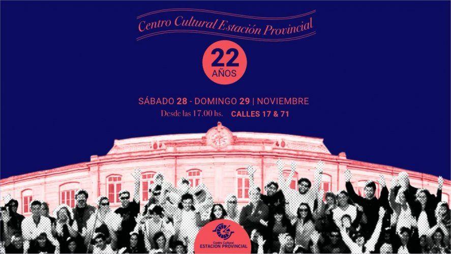Los festejos por el aniversario de Estación Provincial serán este fin de semana en La Plata