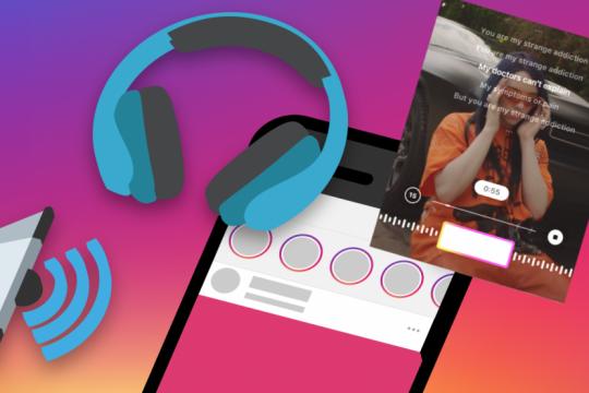 como funciona lyrics, la nueva herramienta de instagram que te permite compartir canciones con letra en las stories