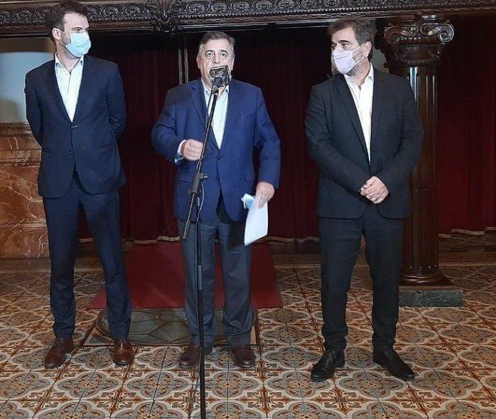 Massa y de Pedro se reunieron con el interbloque de Juntos por el Cambio