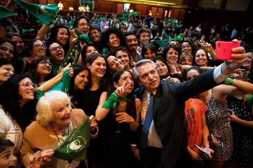 Alberto Fernández envió al Congreso el proyecto de legalización del aborto.