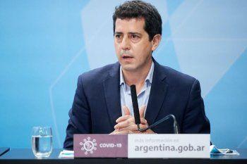 El ministro del Interior, Eduardo Wado de Pedro