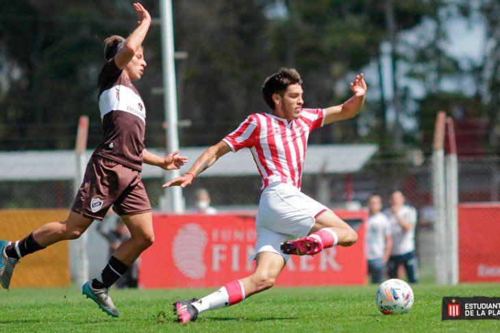 Estudiantes empató 1 a 1 ante Platense en City Bell.