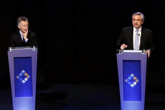 los fuertes cruces entre macri y alberto fernandez monopolizaron el segundo debate presidencial
