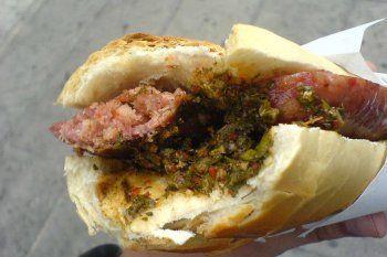 El choripán tuvo gran cantidad de votos en la elección por ser el mejor sándwich del mundo