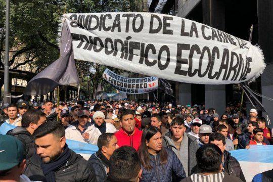 tras los incidentes en ecocarnes, el gremio que representa a sus trabajadores anuncio paro de actividades por 48 horas