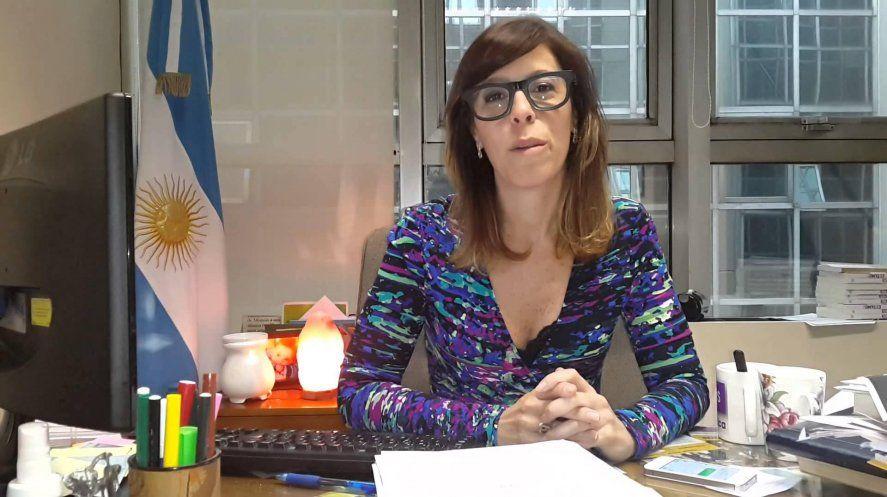 Laura Alonso, la titular macrista de la Oficina Anticorrupción.