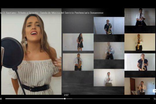 La Banda de Música del SPB interpretó temas de Luis Spinetta