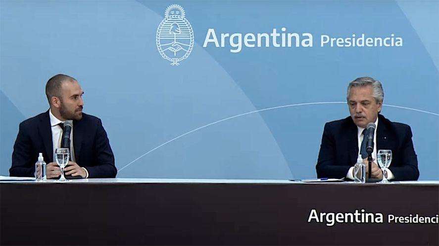 El Ministró martín Guzmán presentó el proyecto de Ley de Hidrocarburos ( Foto Télam)