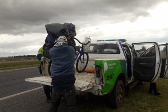 Viajó desde Paraguay en bicicleta para conocer el mar