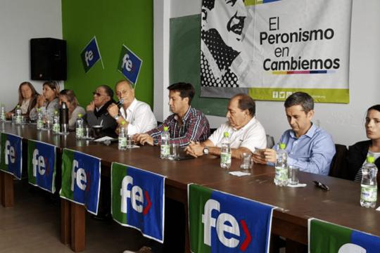 el partido fe del momo venegas oficializo su apoyo al gobierno de alberto fernandez