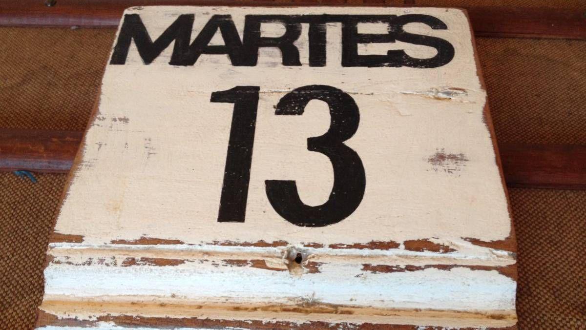 El origen de la mala suerte del martes 13 está vinculado a distintos hechos históricos