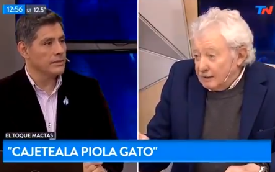 """""""Cajeteala Piola Gato"""": la insólita explicación de Mario Mactas sobre la frase de Pablito Lescano"""