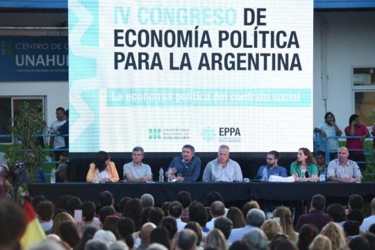 mira en vivo el cierre del iv congreso de economia politica a cargo de maximo kirchner