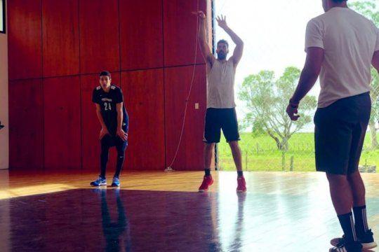 luis scola: el rocky de la generacion dorada que se hizo una cancha de basquet en castelli para enfrentar el mundial