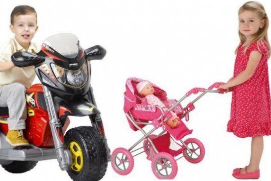 el 70% de los juguetes mas vendidos ?para nenas? son los vinculados al cuidado domestico y la belleza