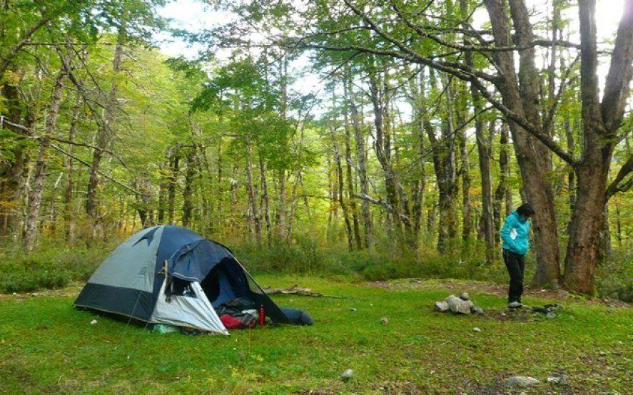 Prepará la mochila: Permiten acampar y andar en bici en las Reservas Naturales de la Provincia