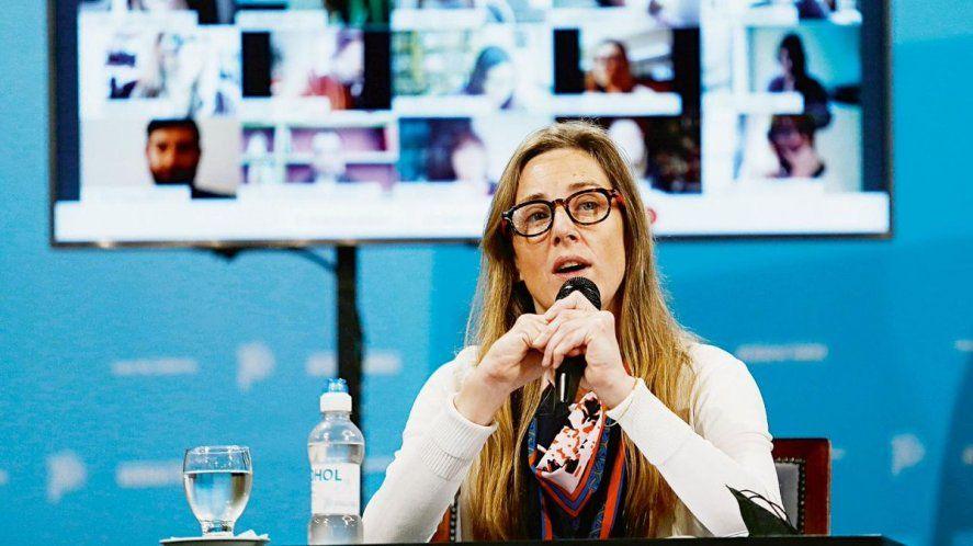 Agustina Vila, directora General de Cultura y Educación bonaerense