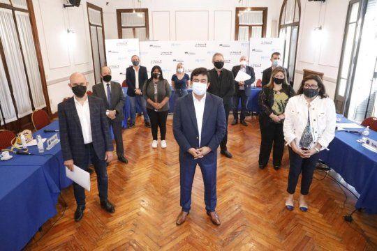Espinoza anunció una inversión de 1.500 millones para la seguridad de La Matanza