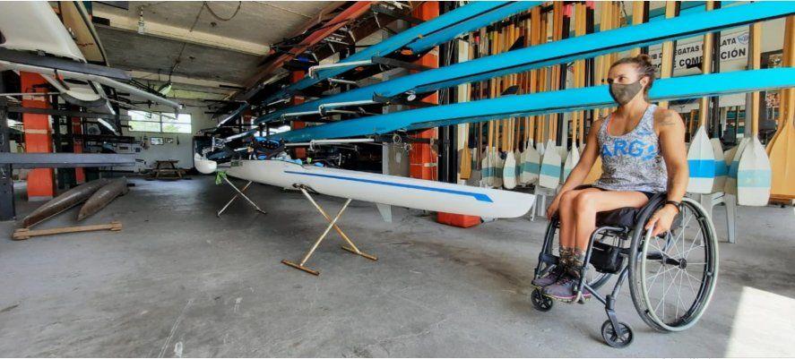 Brenda Sardón es remera de las Olimpiadas Paraolímpicas y le reclama a IOMA por asistencia