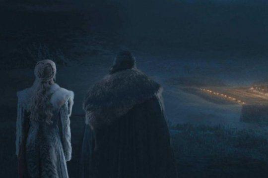 ¿no se vio nada? polemica en las redes por el tercer capitulo de game of thrones