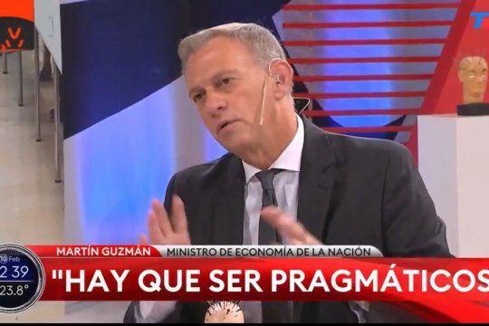 El periodista Marcelo Bonelli admitió ante el Ministro Martín Guzmán que durante el macrismo hubo fuga de capitales tomados de la deuda