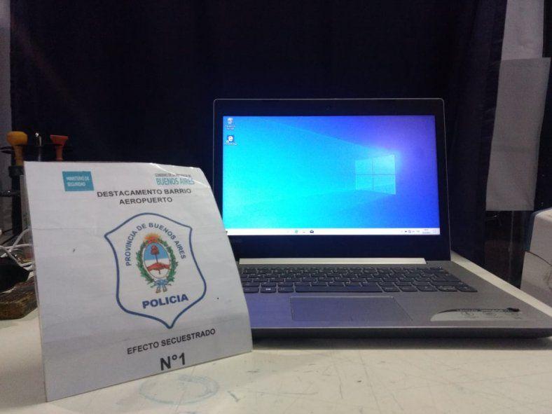 La Plata: en una celada cayó una pareja que vendía una notebook robada