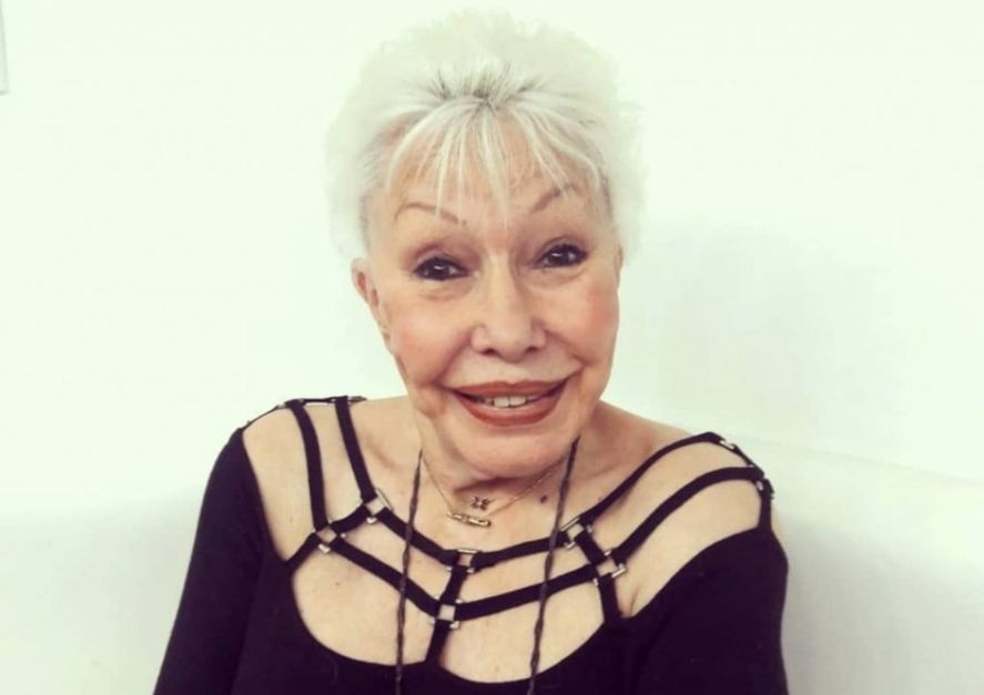 La actriz y vedette Gogó Rojo falleció anoche en su departamento